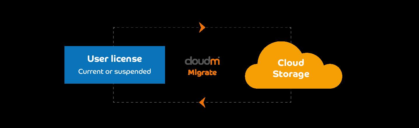 Migrate to cloud storage image