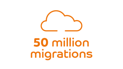 50 million migrations to the cloud