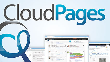 CloudPages is launched